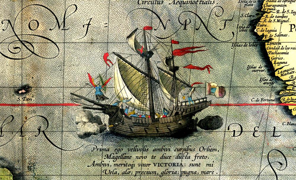 Nueve libros para revivir la vuelta al mundo de Magallanes y Elcano